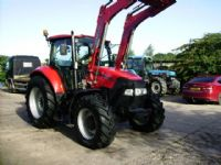 Case Farmall 105U 4wd c/w Power loader.