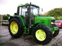 John Deere 6400 4wd, Power Quad, 40k, A/Con