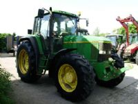 John Deere 6900 4wd, Power Quad, 40K, Air Con, Front links.