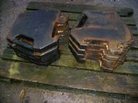 10 x Massey Ferguson 45 KG Weights