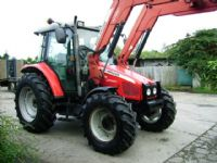 Massey Ferguson 5455 4wd Dyna 4, c/w MF955 Power Loader