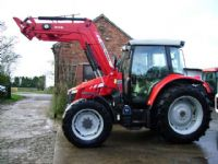 Massey Ferguson 5712 4wd Dyna 4, c/w MF946 Power Loader