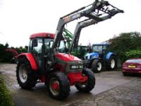 2004 McCormick CX105 4wd & MX 80 Power loader