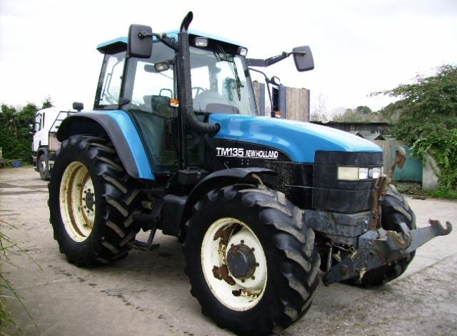 New Holland TM135 4wd, Range Command, F/Links & PTO